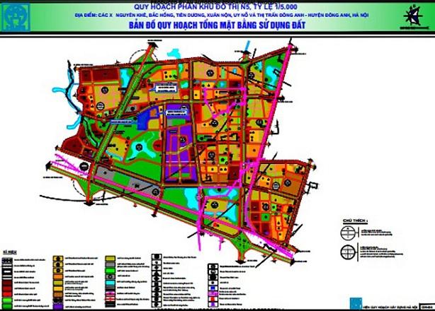 Hà Nội thông qua đồ án quy hoạch khu đô thị gần 614 ha ở Đông Anh - Ảnh 1.