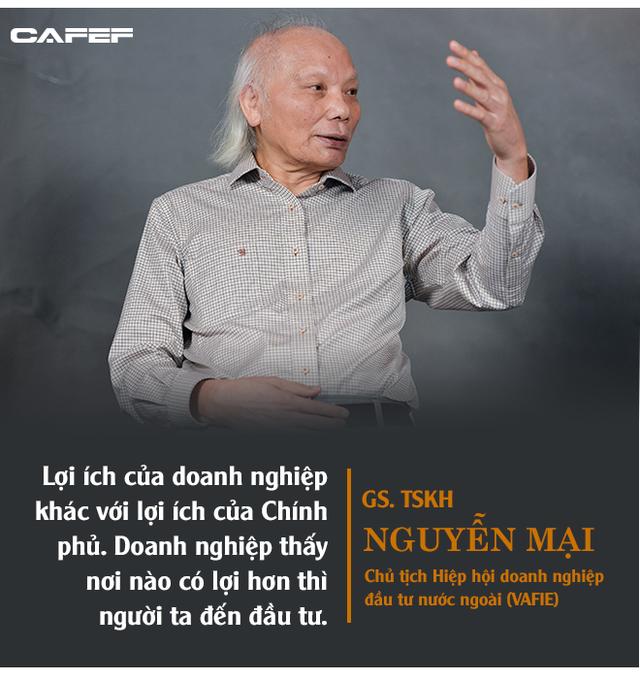 GS. Nguyễn Mại: Tương lai dòng FDI vào Việt Nam và nỗi lo của những doanh nghiệp như Samsung khi những Vingroup, Viettel... lớn lên - Ảnh 2.