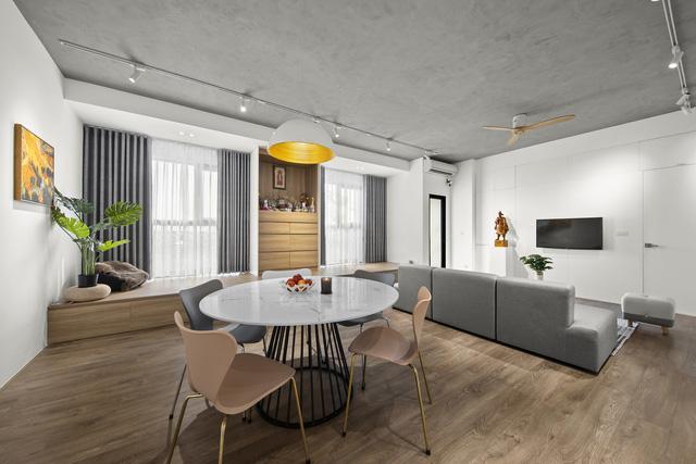 Căn hộ 130 m2 ở trung tâm Hà Nội phá vỡ mọi nguyên tắc thiết kế truyền thống  - Ảnh 5.