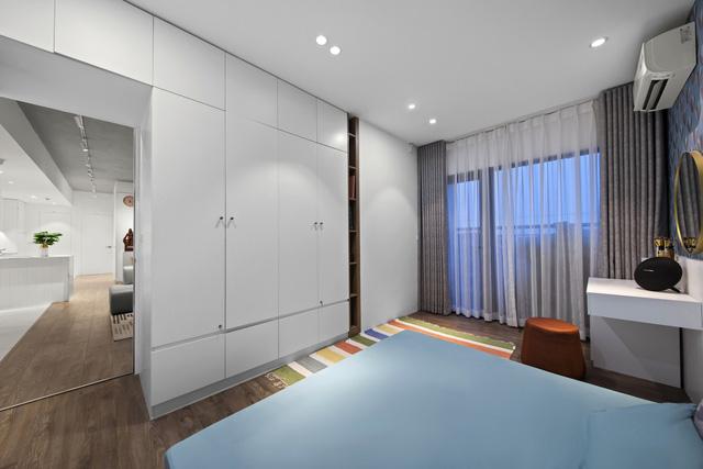 Căn hộ 130 m2 ở trung tâm Hà Nội phá vỡ mọi nguyên tắc thiết kế truyền thống  - Ảnh 9.