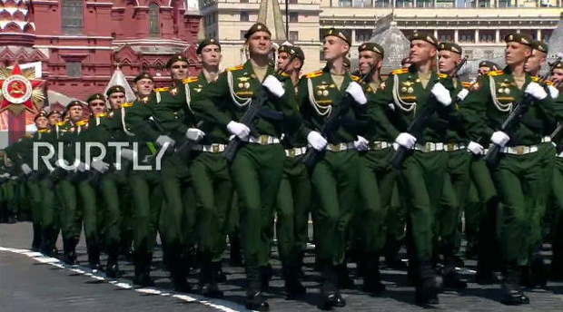 Mãn nhãn với màn duyệt binh hoành tráng nước Nga mừng 75 năm chiến thắng Thế chiến II: 14.000 binh sĩ, 234 khí tài cơ giới và 75 máy bay - Ảnh 20.