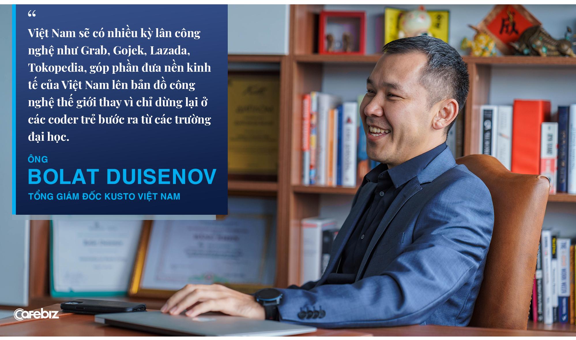 Tổng giám đốc Kusto Việt Nam: Khi bước đến đỉnh cao, người ta không muốn nhấc chân đi tiếp nữa - Ảnh 9.