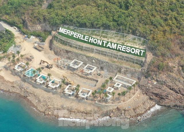 Xử phạt chủ dự án Hòn Tằm 117 triệu đồng vì lấp, lấn Vịnh Nha Trang  - Ảnh 1.