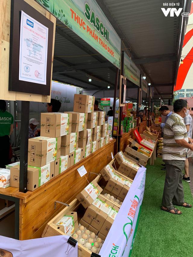Hà Nội lần đầu tiên xuất hiện chợ phiên nông sản theo mô hình Thái Lan - Ảnh 1.