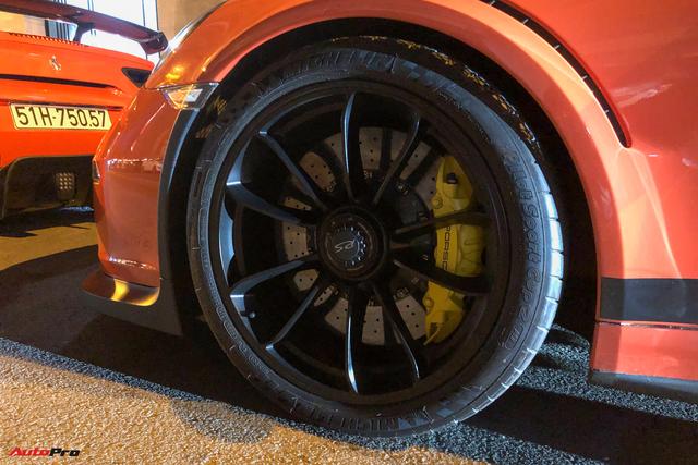 Cận cảnh Porsche 911 GT3 RS từng của ông Đặng Lê Nguyên Vũ: Ngoại thất dễ lầm tưởng với xe cũ của Cường Đô-la - Ảnh 4.
