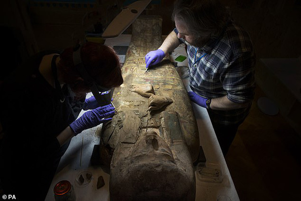 Đưa xác ướp 3.000 năm tuổi của công chúa Ai Cập ra khỏi quan tài, phát hiện bức chân dung bí ẩn cùng hàng loạt câu hỏi chưa có lời giải đáp - Ảnh 1.