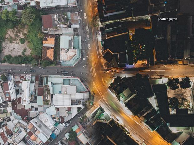 """Không tin vào mắt mình trước bộ ảnh chụp Sài Gòn từ trên cao đang """"gây bão"""" MXH: Xem hình, bạn đoán được đúng tên bao nhiêu địa điểm?  - Ảnh 21."""
