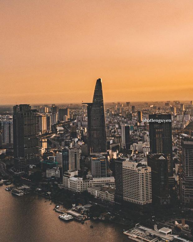 """Không tin vào mắt mình trước bộ ảnh chụp Sài Gòn từ trên cao đang """"gây bão"""" MXH: Xem hình, bạn đoán được đúng tên bao nhiêu địa điểm?  - Ảnh 6."""