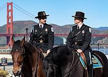 Lợi thế của cảnh sát kị binh ở các nước - Ảnh 1.