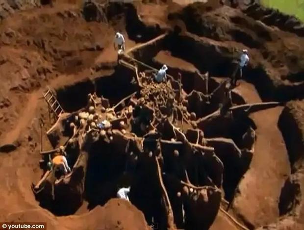 Đổ 10 tấn xi măng xuống tổ kiến dưới lòng đất, nhà khoa học không thể tin vào mắt mình khi khám phá ra thành phố khổng lồ - Ảnh 1.