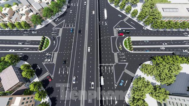 Hình ảnh thiết kế hầm chui Lê Văn Lương vượt ngầm Vành đai 3  - Ảnh 2.
