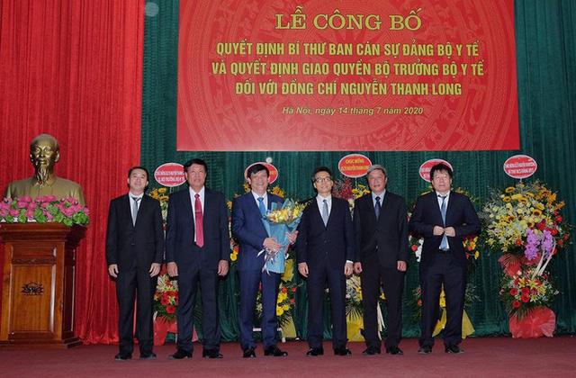 Trao quyết định bổ nhiệm Quyền Bộ trưởng Bộ Y tế cho GS.TS Nguyễn Thanh Long  - Ảnh 1.