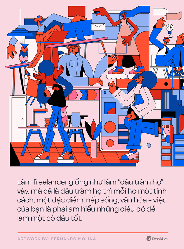 5 bài học vỡ lòng để trở thành một freelancer thành công: Nghiêm khắc, kỷ luật và không được phá giá bản thân  - Ảnh 1.