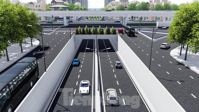 Hình ảnh thiết kế hầm chui Lê Văn Lương vượt ngầm Vành đai 3  - Ảnh 3.