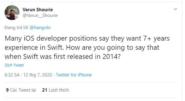 Màn tuyển dụng gây lú của IBM: Yêu cầu ứng viên phải có 12 năm kinh nghiệm với Kubernetes, trong khi nền tảng này mới chỉ 6 năm tuổi - Ảnh 3.