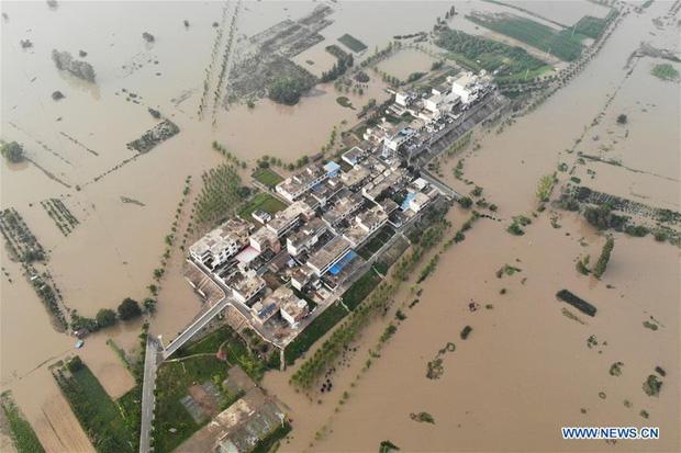 Sông Hoài (Trung Quốc) sắp phải gánh chịu 2 đợt mưa lớn - Ảnh 1.