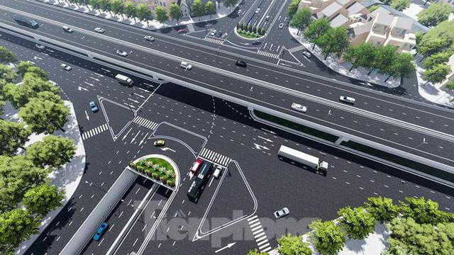 Cận cảnh 3 địa điểm xây hầm chui 2.000 tỷ đồng tại Hà Nội   - Ảnh 1.