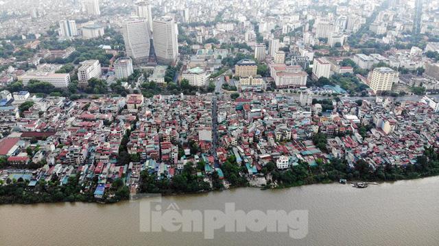 Cận cảnh nơi dự kiến xây dựng cầu Trần Hưng Đạo nối quận Long Biên - Hoàn Kiếm  - Ảnh 5.