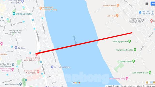 Cận cảnh nơi dự kiến xây dựng cầu Trần Hưng Đạo nối quận Long Biên - Hoàn Kiếm  - Ảnh 7.