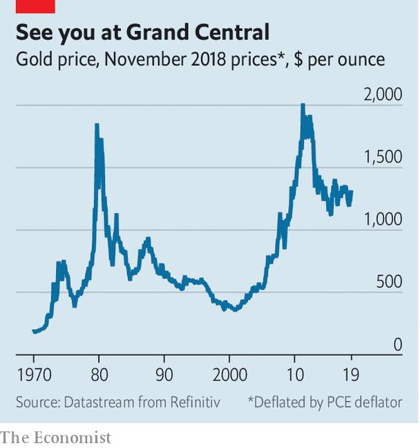 Tại sao thứ kim loại vô dụng như vàng lại có giá khi nền kinh tế biến động? - Ảnh 2.