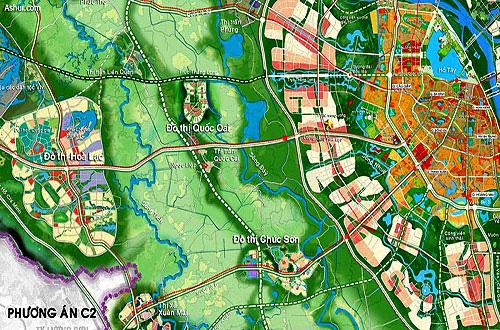"""Soi quy hoạch hệ thống giao thông """"khủng"""" tại đô thị vệ tinh lớn nhất Thủ đô  - Ảnh 2."""