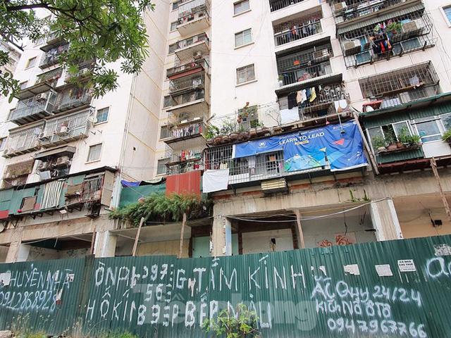 Tận thấy cảnh hoang tàn các khu nhà tái định cư ở Hà Nội  - Ảnh 1.