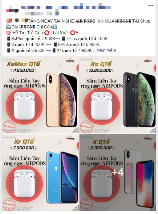 iPhone XS, iPhone 11 Pro Max,... ngày càng rẻ, cửa hàng tung chiêu tặng kèm Airpods và Apple Watch để kích cầu  - Ảnh 2.