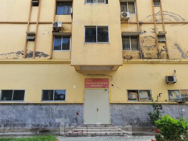 Tận thấy cảnh hoang tàn các khu nhà tái định cư ở Hà Nội  - Ảnh 16.