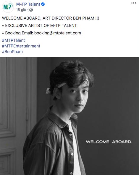 Tài không đợi tuổi: Chàng trai sinh năm 1998 trở thành Giám đốc nghệ thuật M-TP Talent, giỏi từ chụp ảnh, diễn xuất đến dàn dựng MV - Ảnh 1.