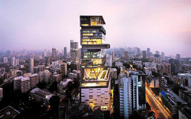 Chiêm ngưỡng siêu biệt thự ở Mumbai của tỷ phú giàu nhất châu Á - Ảnh 3.