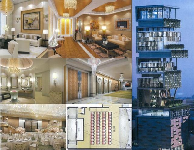 Chiêm ngưỡng siêu biệt thự ở Mumbai của tỷ phú giàu nhất châu Á - Ảnh 4.