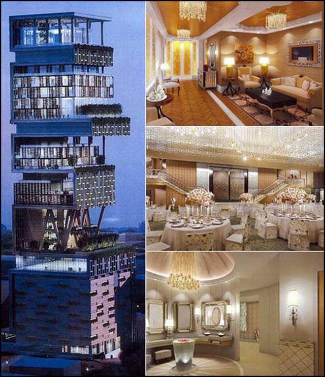 Chiêm ngưỡng siêu biệt thự ở Mumbai của tỷ phú giàu nhất châu Á - Ảnh 9.