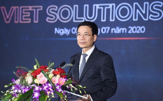 Bộ trưởng Nguyễn Mạnh Hùng: Tìm kiếm giải pháp chuyển đổi số quốc gia để thay đổi thứ hạng Việt Nam - Ảnh 1.