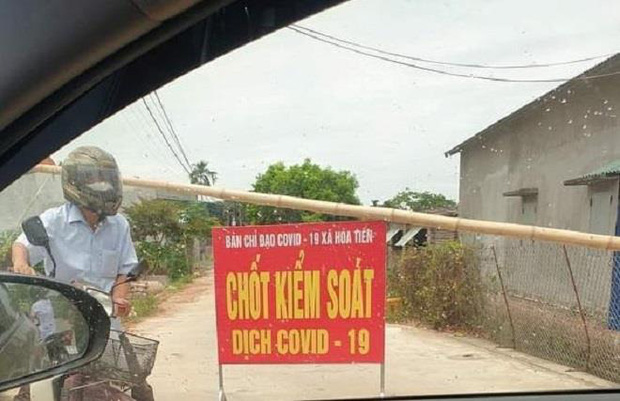 Thái Bình phong tỏa một thôn với 280 hộ dân - Ảnh 1.