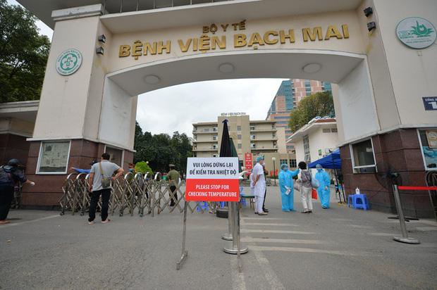 Bệnh viện Bạch Mai lên tiếng về thông tin có ca bệnh dương tính - Ảnh 1.