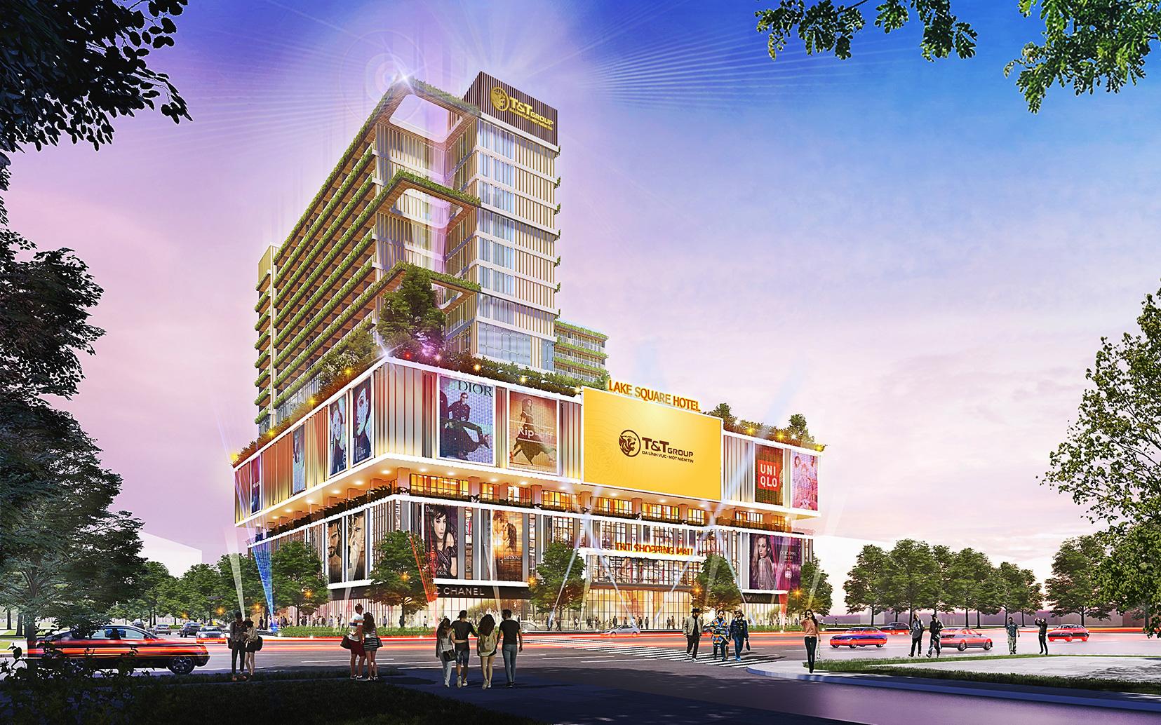 T&T Group khởi công xây dựng TTTM tại trung tâm thành phố Hải Dương