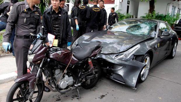 Vụ án quá nhiều twist của thiếu gia thừa kế gia tộc Red Bull: Chiếc siêu xe oan nghiệt và scandal gây chấn động cả xã hội Thái Lan - Ảnh 3.