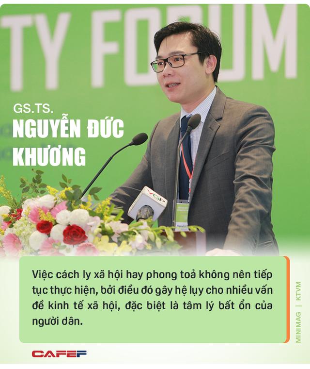 """GS.TS Nguyễn Đức Khương: Ứng xử với dịch bệnh phải kiên quyết nhưng để khôi phục kinh tế thì phải linh hoạt và """"sống chung với dịch"""" - Ảnh 5."""