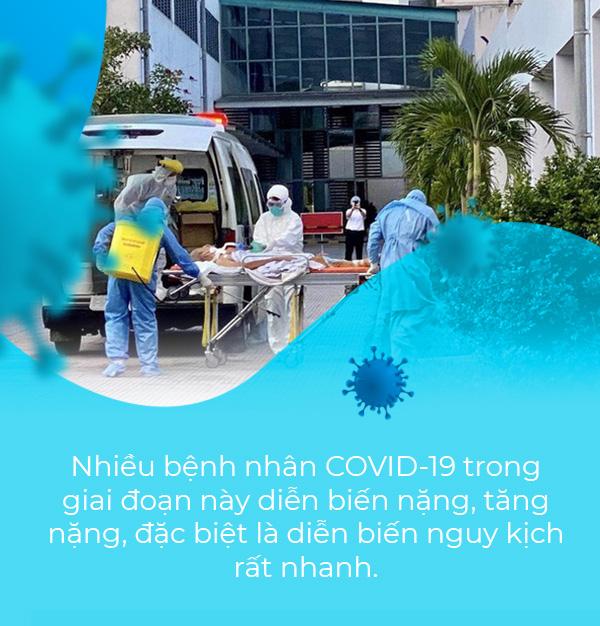 Thứ trưởng Bộ Y tế Nguyễn Trường Sơn: Nhiều yếu tố dễ dẫn đến nguy cơ tăng nặng rất nhanh khi nhiễm COVID-19  - Ảnh 3.