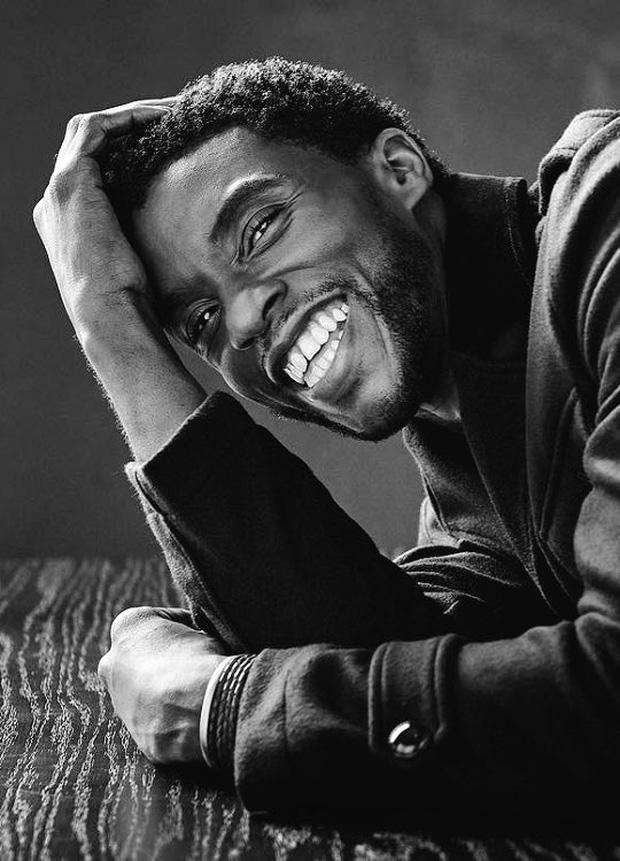 Bài đăng cuối cùng của Black Panther Chadwick Boseman: Giây phút cuối vẫn rạng rỡ nụ cười lạc quan đến đau xót - Ảnh 1.