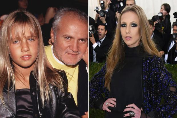 Cuộc sống như địa ngục của Ái nữ đế chế Versace: Thừa kế công ty khi mới 11 tuổi, tài sản hàng trăm triệu đô nhưng không có lấy một ngày vui vẻ - Ảnh 3.
