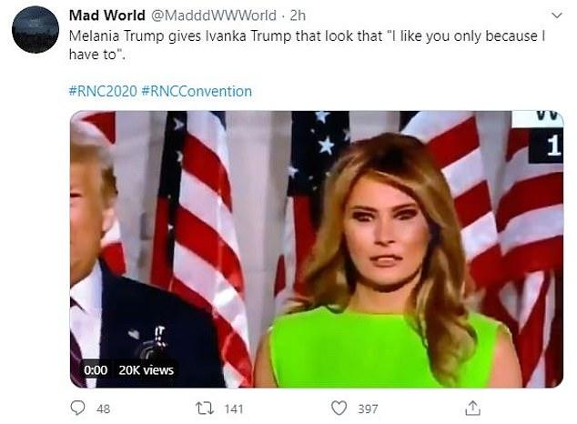 Khoảnh khắc Đệ nhất phu nhân Mỹ biến đổi cảm xúc khi nữ thần Nhà Trắng Ivanka Trump đi qua gây bão cộng đồng mạng  - Ảnh 3.