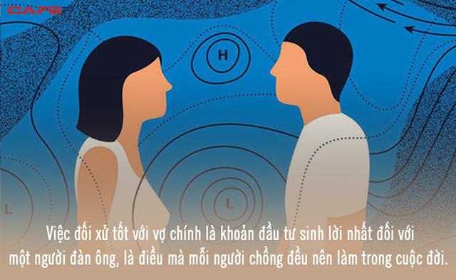 3 lý do khiến đàn ông nhận ra, đối xử tốt với vợ chính là khoản đầu tư sinh lời nhất đời người  - Ảnh 1.