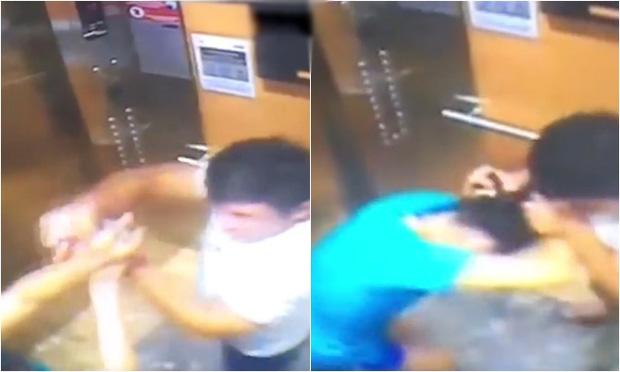 Người đàn ông giật tóc, xịt cồn vào mặt phụ nữ khi bị nhắc nhở đeo khẩu trang trong thang máy là phi công - Ảnh 1.