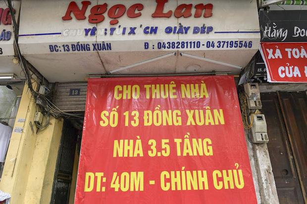Clip, ảnh: Hàng loạt cửa hàng ở phố cổ Hà Nội lần thứ hai lao đao vì dịch Covid-19 - Ảnh 5.