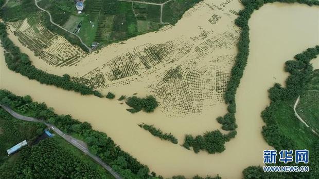 Lũ lụt ảnh hưởng hơn 38 triệu người ở Trung Quốc trong tháng 7 - Ảnh 1.