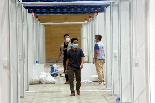 Hình ảnh bệnh viện dã chiến tại Đà Nẵng cơ bản hoàn thành sau 72h thi công thần tốc  - Ảnh 7.