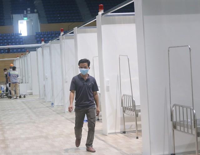 Hình ảnh bệnh viện dã chiến tại Đà Nẵng cơ bản hoàn thành sau 72h thi công thần tốc  - Ảnh 8.