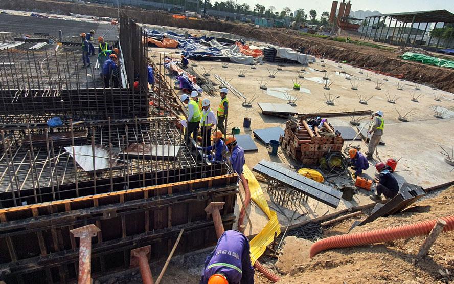 TP.HCM: Các công trình xây dựng chung cư, cao ốc được phép cho công nhân làm việc mùa dịch