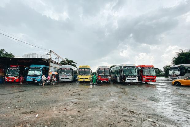 """2 bến xe lớn nhất Sài Gòn """"ngấm đòn"""" Covid-19, nhà xe hạ giá vé vì ế khách trong dịp nghỉ lễ Quốc khánh - Ảnh 6."""